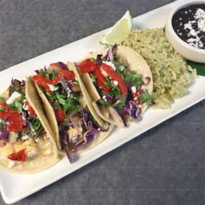 Tacos de Pescado (Lunch)