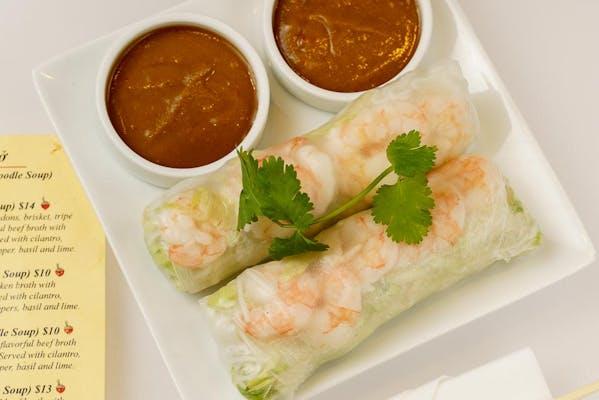 Gọi Cuốn Tôm (Shrimp Spring Rolls)