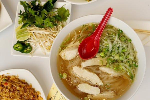 Phở Gà (Chicken Noodle Soup)