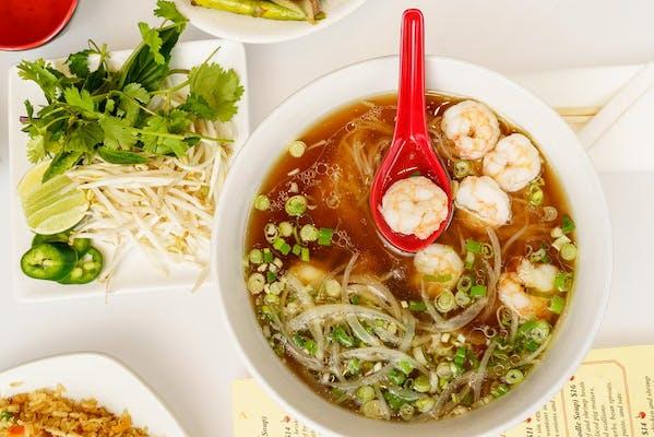 Phở Tôm (Shrimp Noodle Soup)