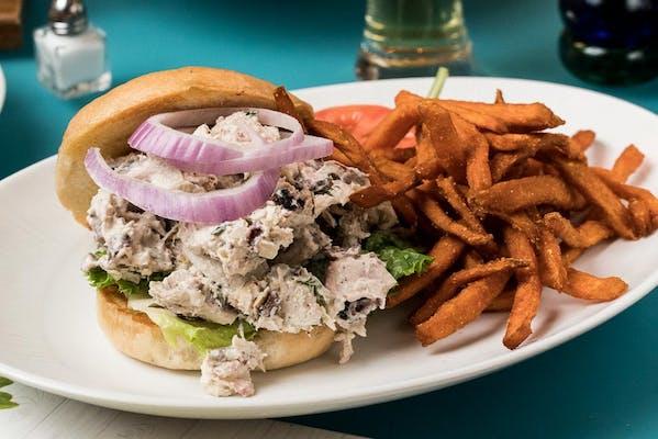 Chicken Pecan Salad Sandwich