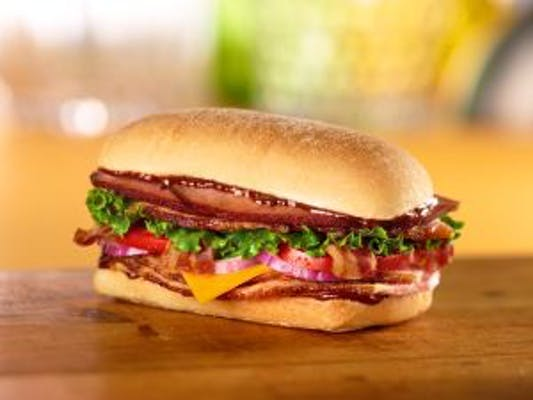 BBQ Smoked Stacker Sandwich