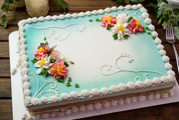 (½) Sheet Cake