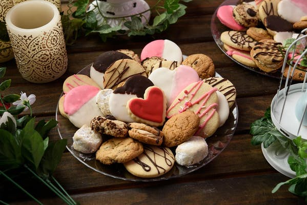 (2) Dozen Assorted Cookie Tray