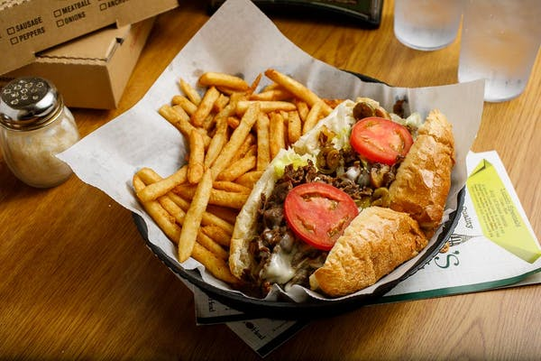 Philly Cheesesteak over Fries
