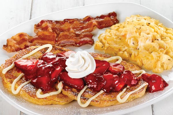 Strawberry Croissant French Toast Platter