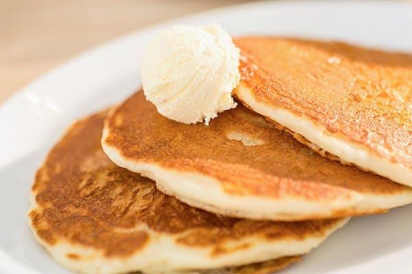 Blueberry Buttermilk Pancake Platter