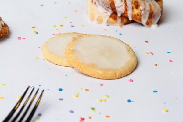 Lemon Iced Cookie