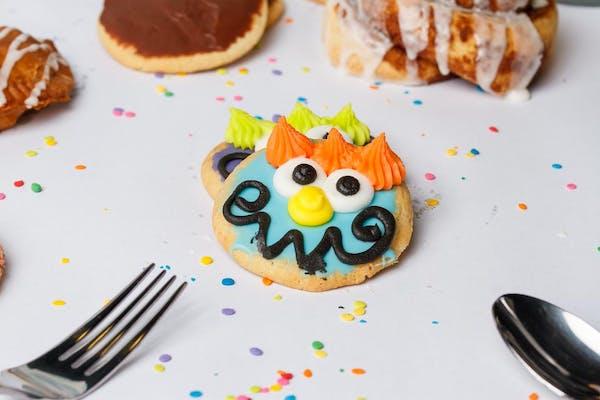 Smiley Face Sugar Cookie