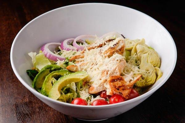 Grilled Chicken & Artichoke Salad