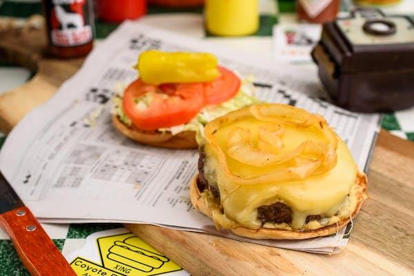 Dijon Swiss Burger