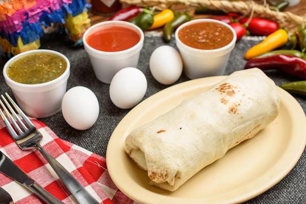 Grandma's Special Breakfast Burrito
