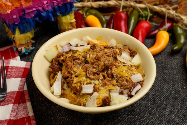 Chili & Brisket Frito Pie