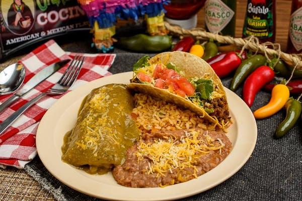 Grandma's Mexican Dinner