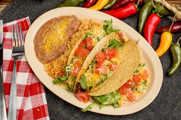 Crispy Taco Plate