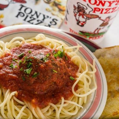Spaghetti & Italian Meat Sauce