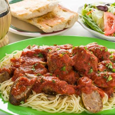 Tony's Special Spaghetti Platter