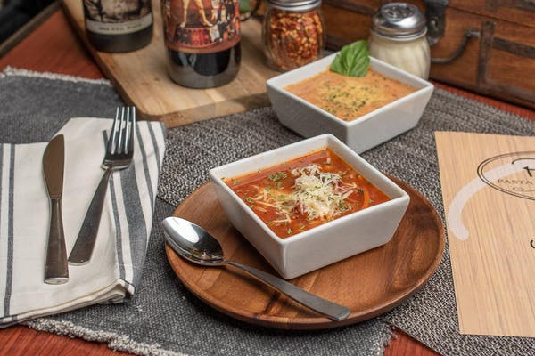 Homemade Pasta Fagioli Soup