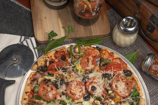 Palio's Vegetable Pizza