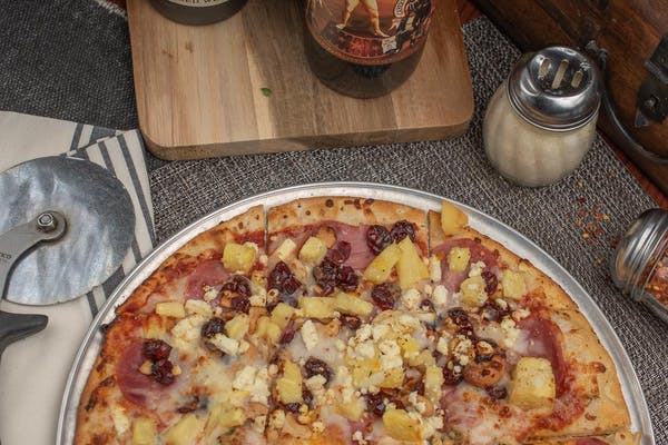 Hawaiian Sunrise Pizza