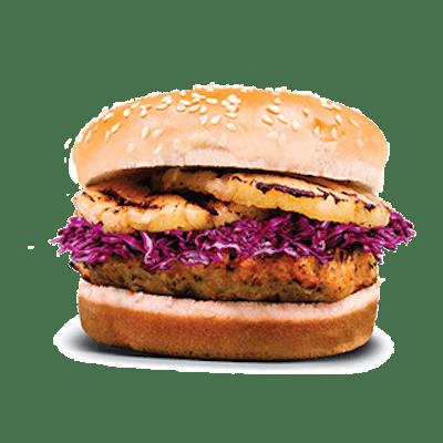 Hawaiian Salmon Burger