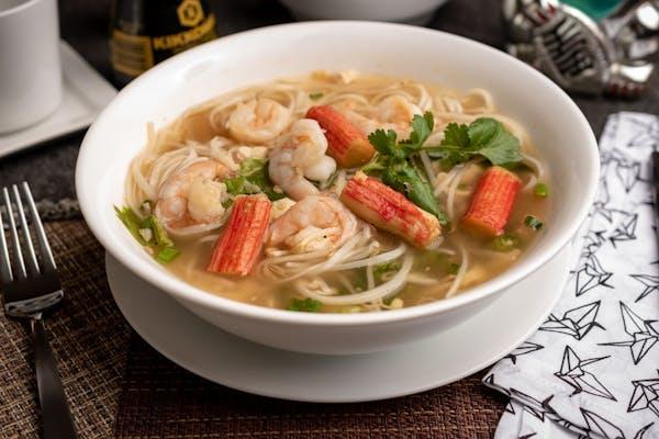 36. Seafood Noodle Soup