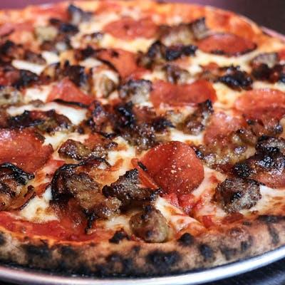 The Meatza Pizza