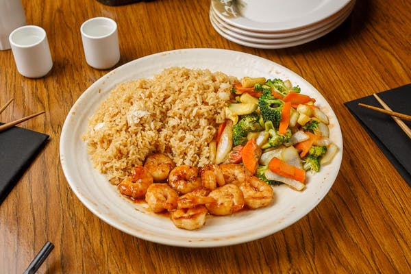 Lunch Shrimp Hibachi