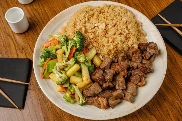 Lunch Steak Hibachi