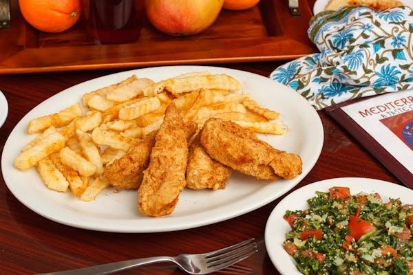 Crispy Fried Chicken Tenders (4)