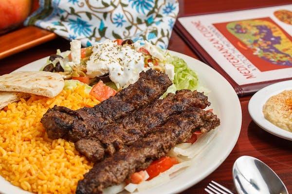 Kofta Kebab Platter