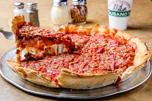 "(12"") Chicago-Style Deep Dish Create Your Own Pizza"