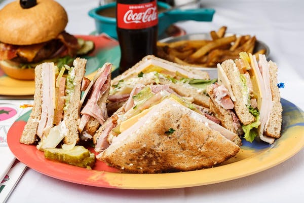 Downtown Club Sandwich