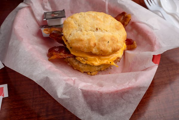 Bacon, Egg & American Cheese Biscuit