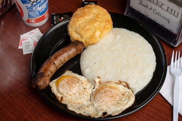 Big Breakfast & Weinberg Sausage