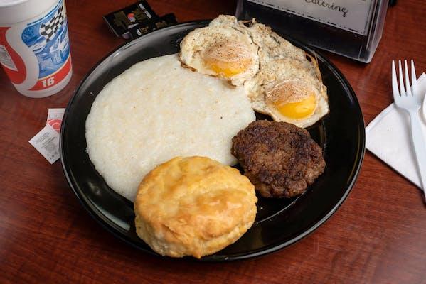 Big Breakfast & Weinberg Smoked Sausage