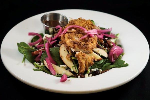 Crispy Chicken Apple Salad