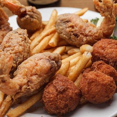 Fried Stuffed Shrimp