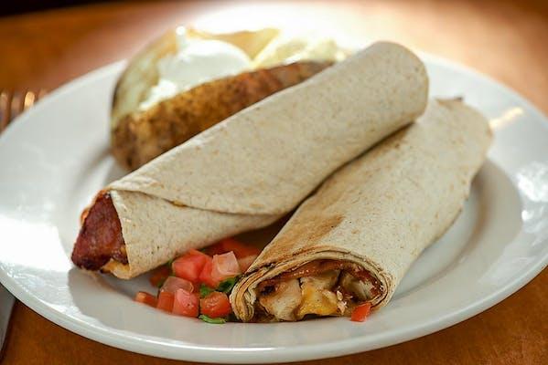 Chicken & Bacon Wrap