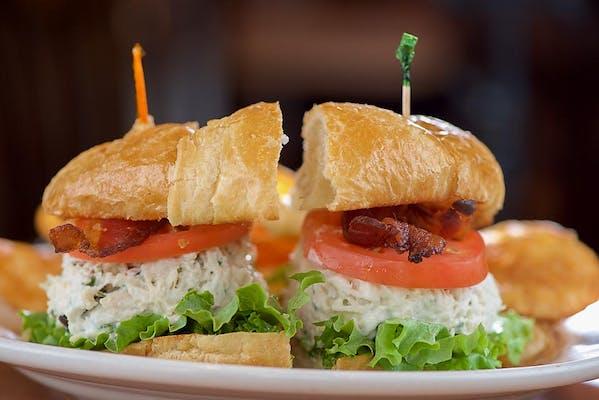 Chicken Salad Club Sandwich