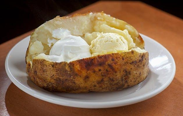 Side Baked Potato