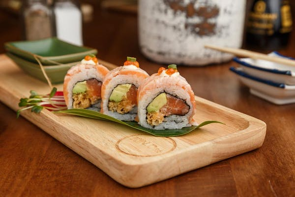 Crazy Salmon Roll