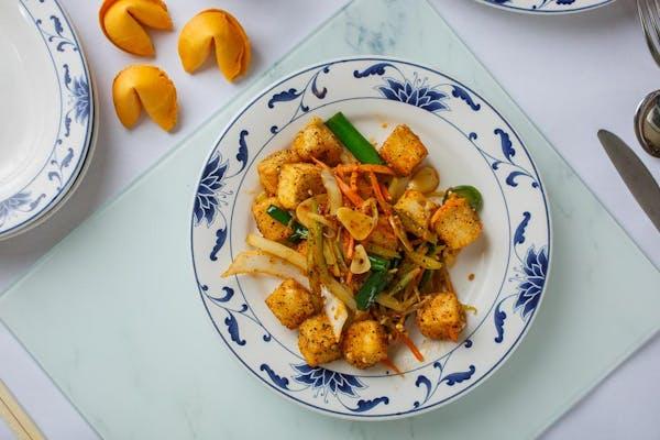 A11. Fried Tofu