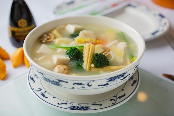 SP6. Vegetable Bean Curd Soup