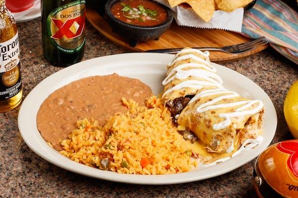 Gringo Burrito Plate