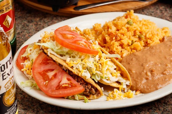 Soft or Crispy Taco Plate