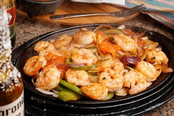 Shrimp Parrillada for One