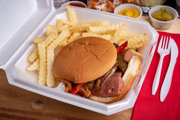 Big Sausage Sandwich