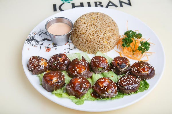 Beef Negimaki Dinner