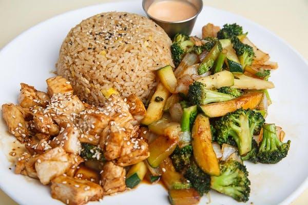 Chicken Hibachi Dinner